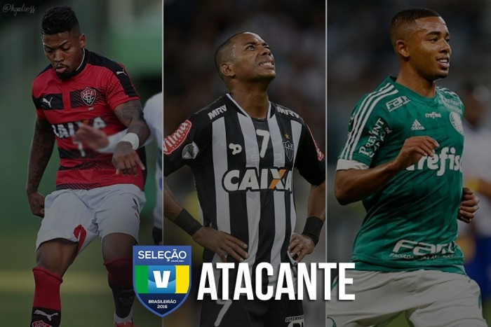 Seleção VAVEL: vote no melhor PRIMEIRO ATACANTE do Brasileirão 2016!