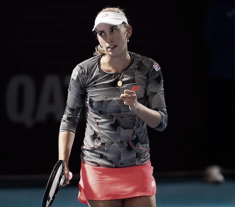 Mertens derruba Pliskova 'substituta' e faz sua segunda vítima tcheca em Doha