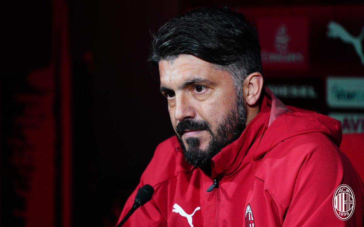 Milan, domani arriva la Lazio: le parole di Gattuso ed i convocati rossoneri