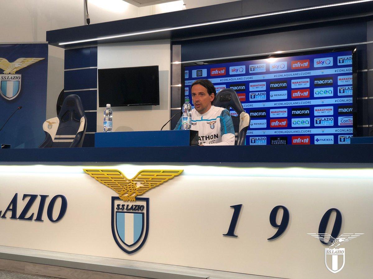 """Lazio, Inzaghi in conferenza: """"VAR? Voglio far parlare solo il campo"""""""