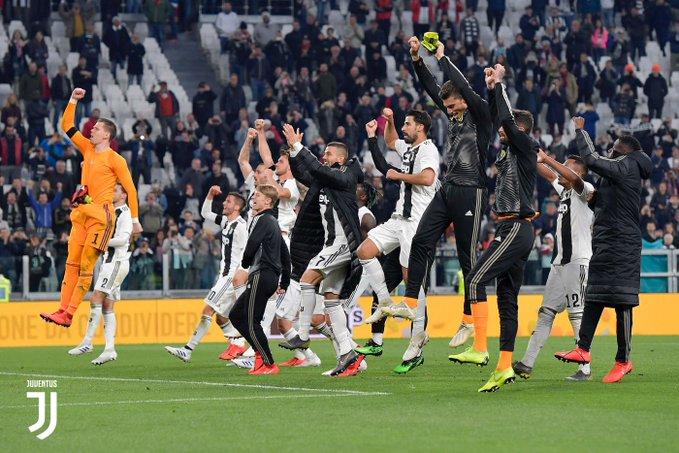 La Juventus rimonta il Milan e aspetta solo di festeggiare l'ottavo scudetto consecutivo