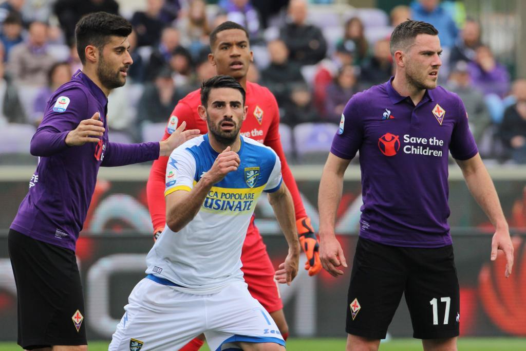 Serie A - Ciofani stende la Fiorentina: il Frosinone sbanca il Franchi