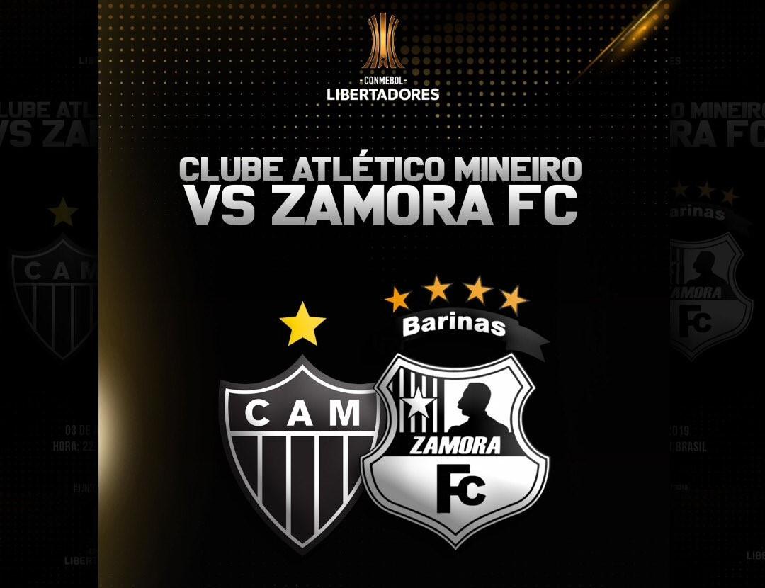 Resultado de Atlético-MG x Zamora pela Libertadores (3-2)