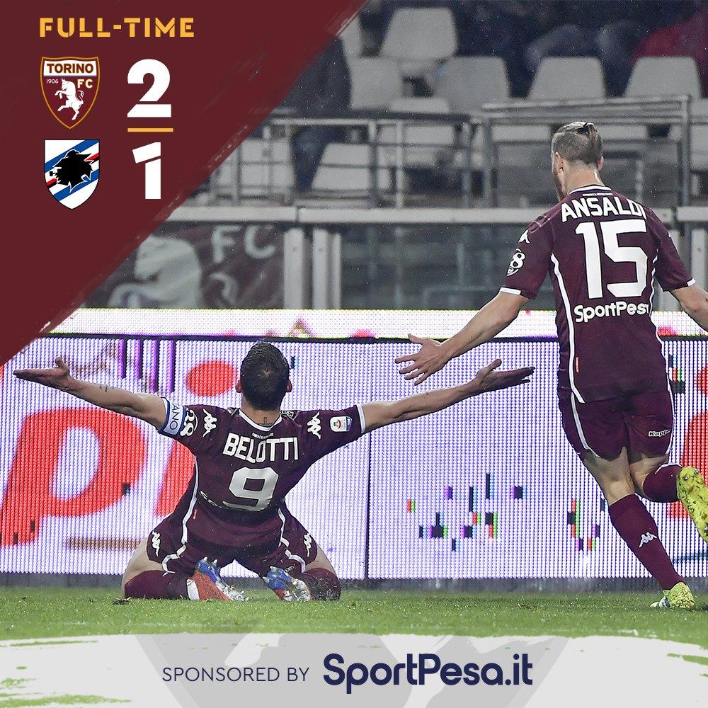 Serie A- Il Gallo alza la cresta: il Torino batte la Sampdoria 2-1