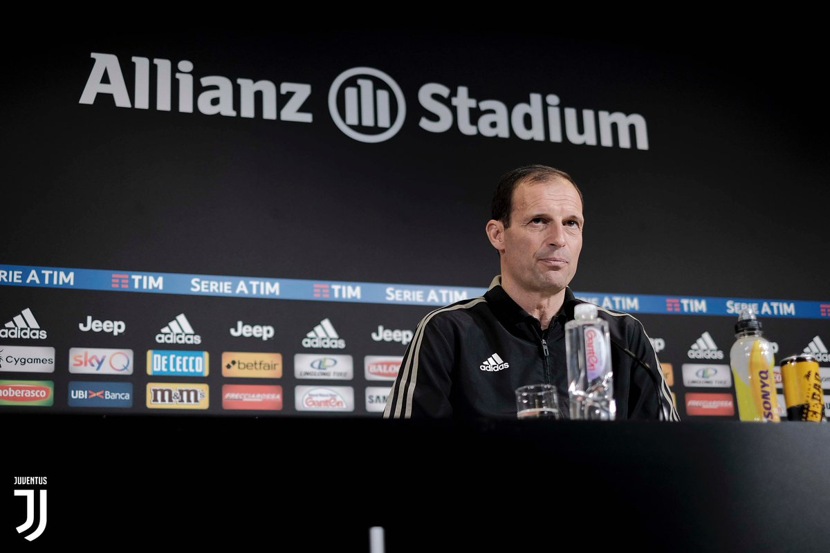 Juventus - Le parole di Allegri in conferenza stampa