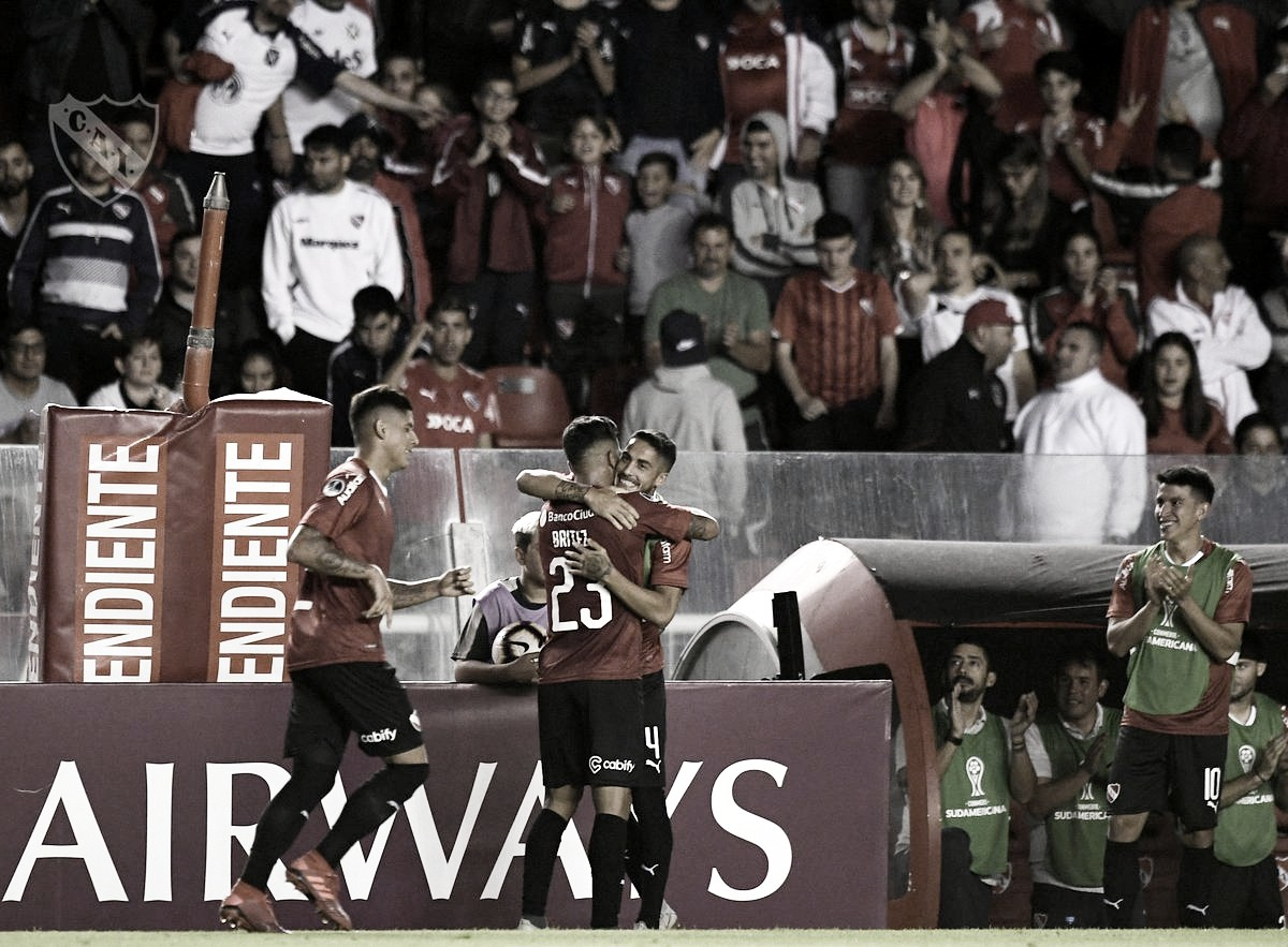 Show de goles en el Libertadores de América
