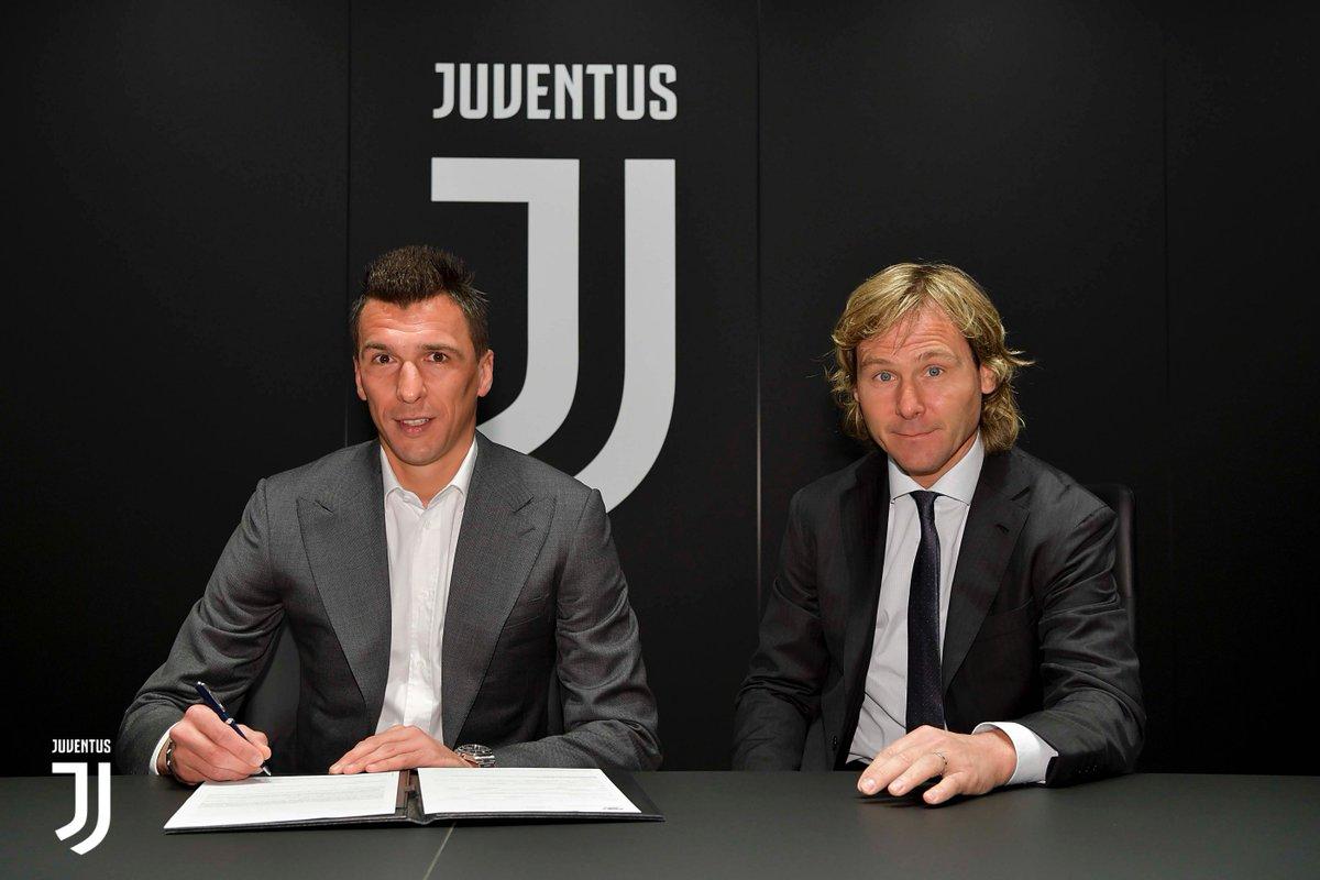 Serie A- La Juventus rinnova Mandzukic e guarda con ottimismo alla sfida con l'Ajax