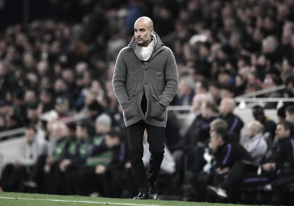 """Guardiola minimiza derrota do Manchester City: """"Fizemos uma partida incrível"""""""
