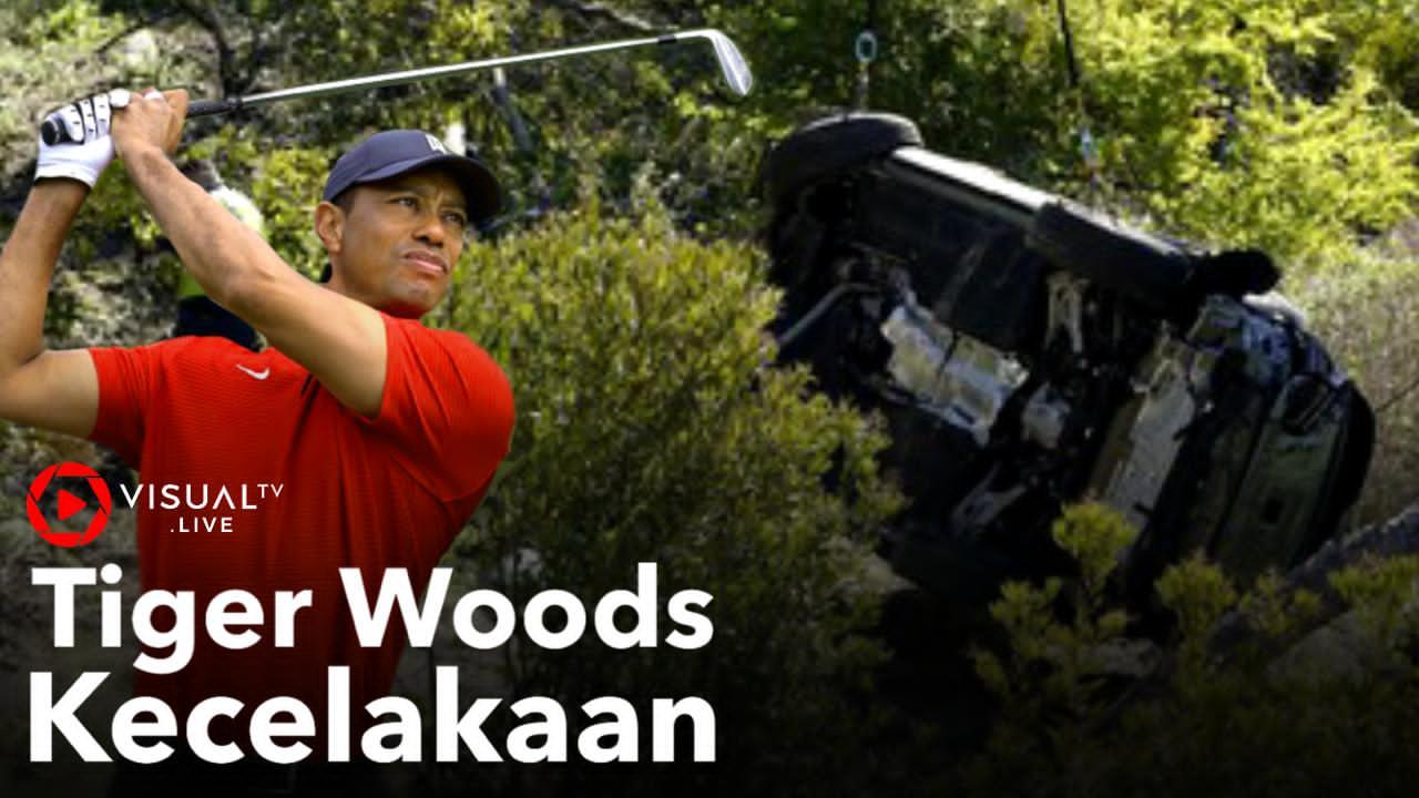 Tiger Woods Mengalami Kecelakaan Hebat