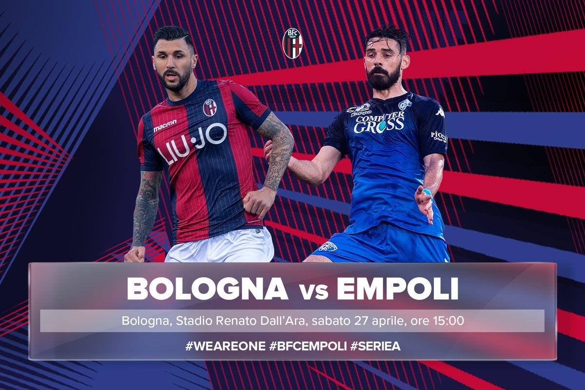 Bologna vs Empoli- La salvezza passa dal Dall'Ara: primo match ball Bologna
