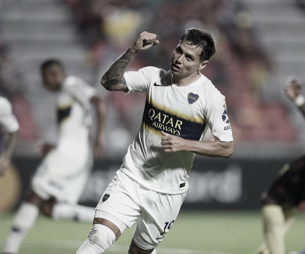 """Mauro Zárate: """"Somos Boca y tenemos que ganar en todos lados"""""""