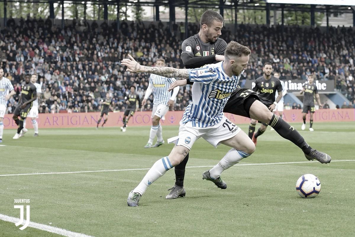 Juventus abre o placar, mas SPAL vence de virada e adia título do Campeonato Italiano