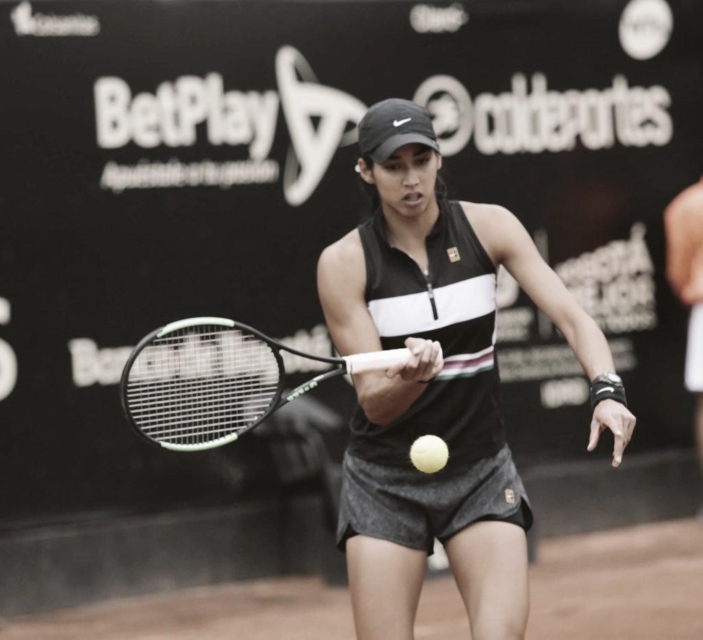Sharma supera Arruabarrena em Bogotá e alcança primeira final WTA da carreira