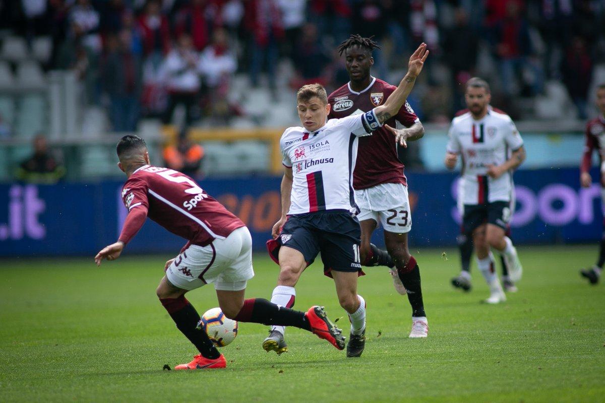 Serie A - Pavoletti risponde a Zaza: 1-1 tra Torino e Cagliari