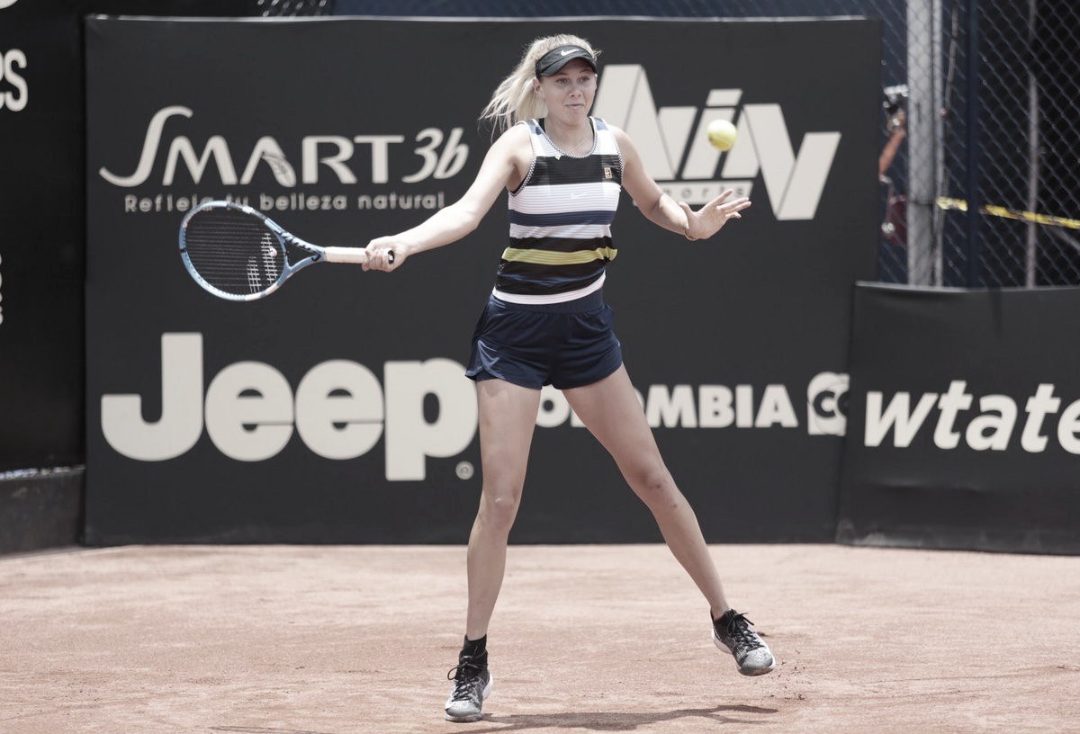 Anisimova bate Sharma de virada e conquista primeiro título da carreira em Bogotá