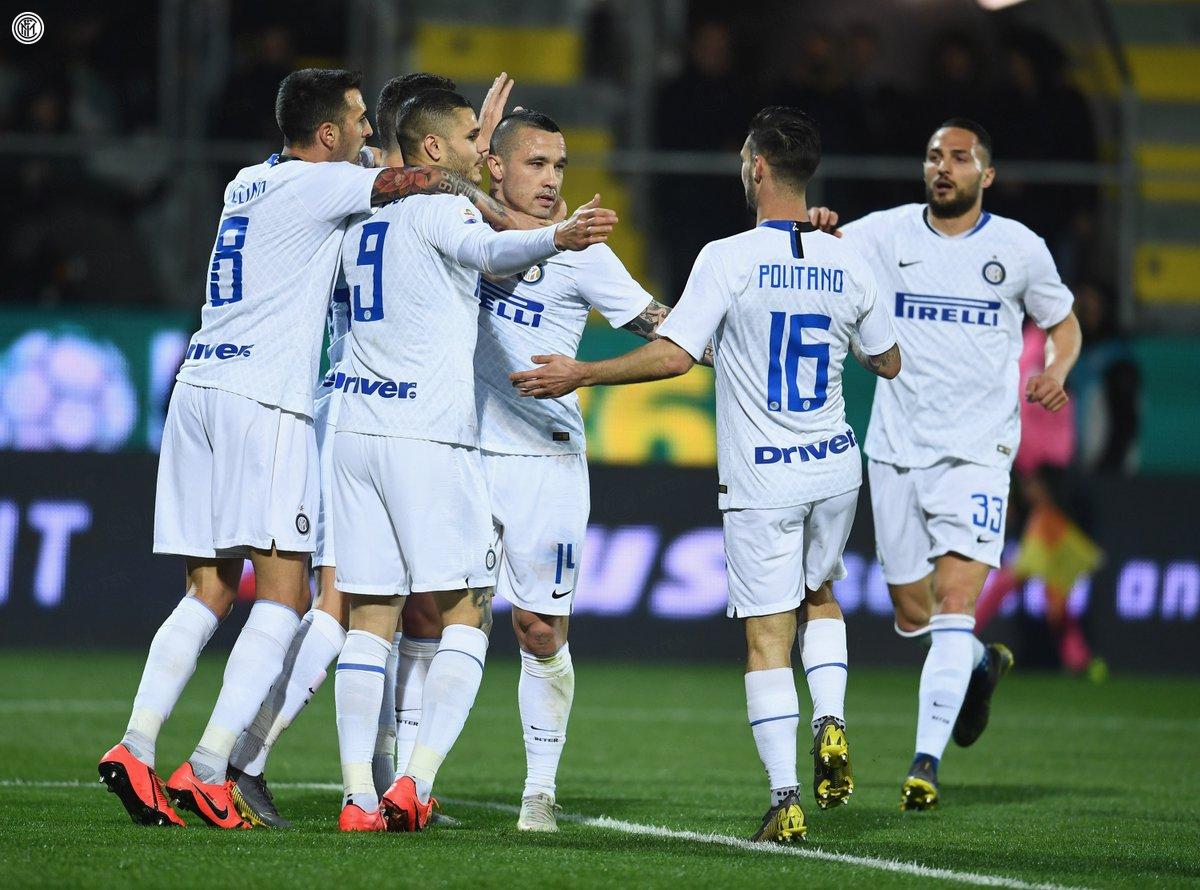 Serie A - L'Inter espugna lo Stirpe: battuto il Frosinone 1-3