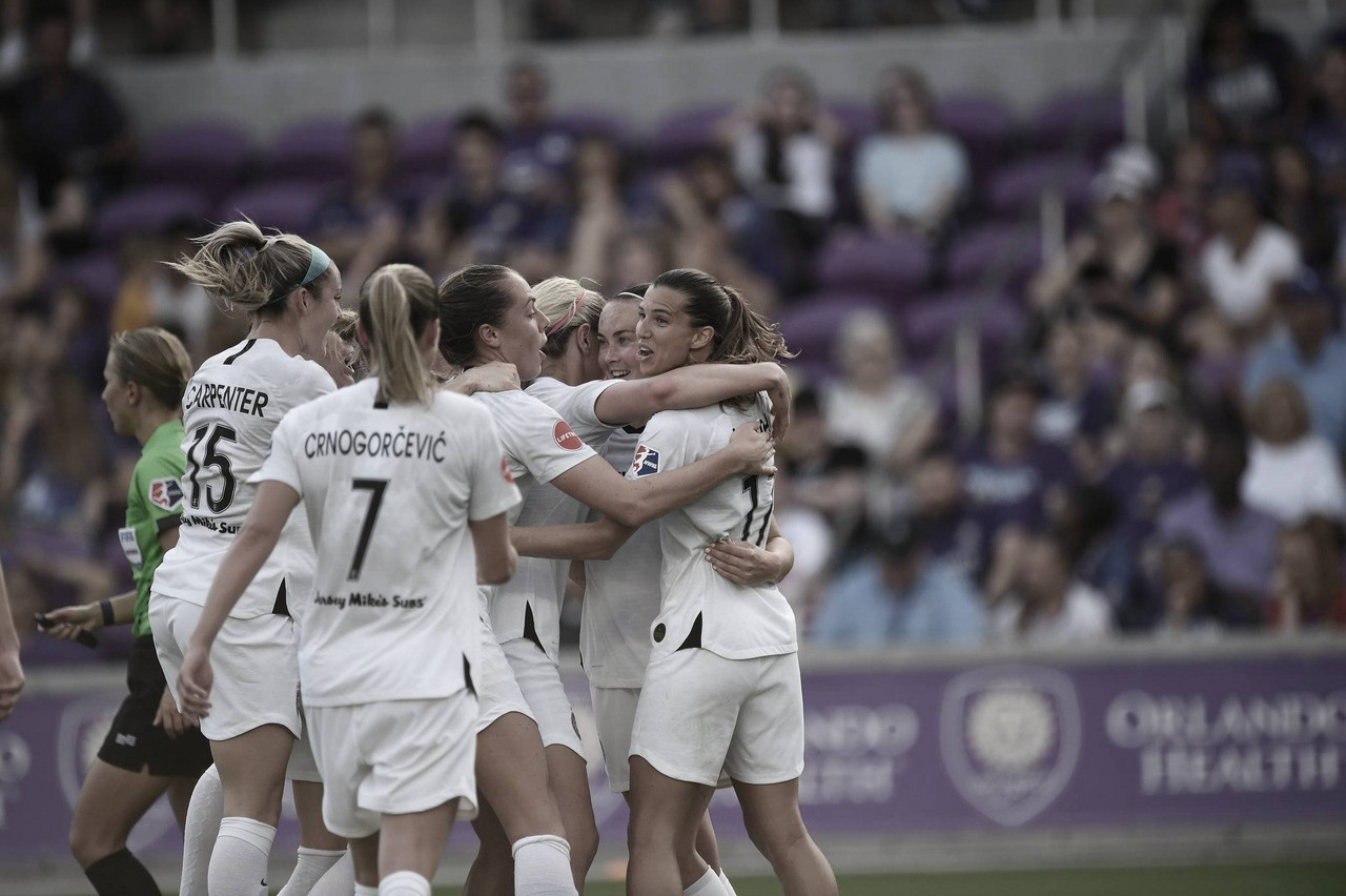 Portland Thorns FC cruise to an easy 2-0 victory over the Orlando Pride