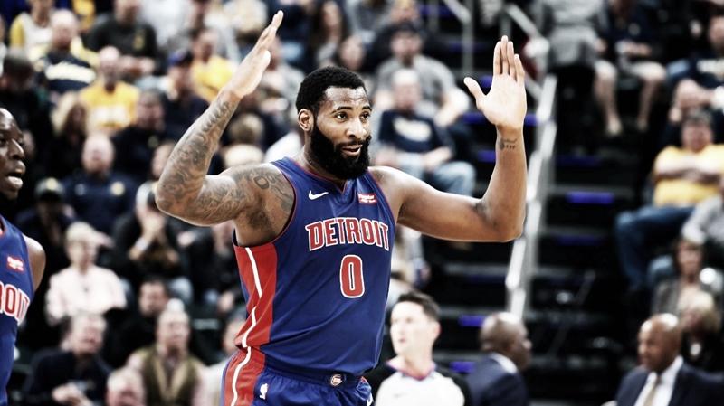 Detroit Pistons e Atlanta Hawks conversam sobre troca envolvendo o pivô Andre Drummond