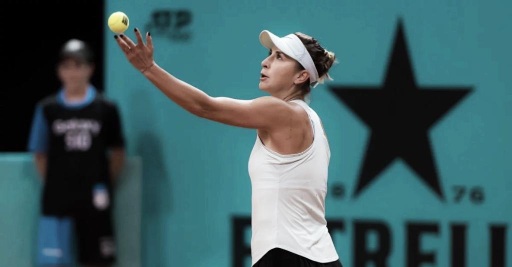 Bencic sofre, mas vence Kuznetsova e avança em Madrid
