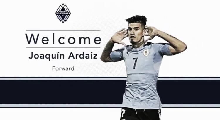 Joaquín Ardaiz refuerza a Vancouver Whitecaps FC