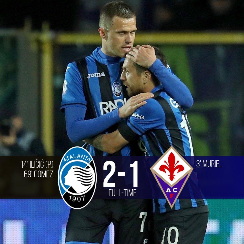 Coppa Italia - La corsa della Dea non si ferma: l'Atalanta batte 2-1 la Fiorentina e vola in finale