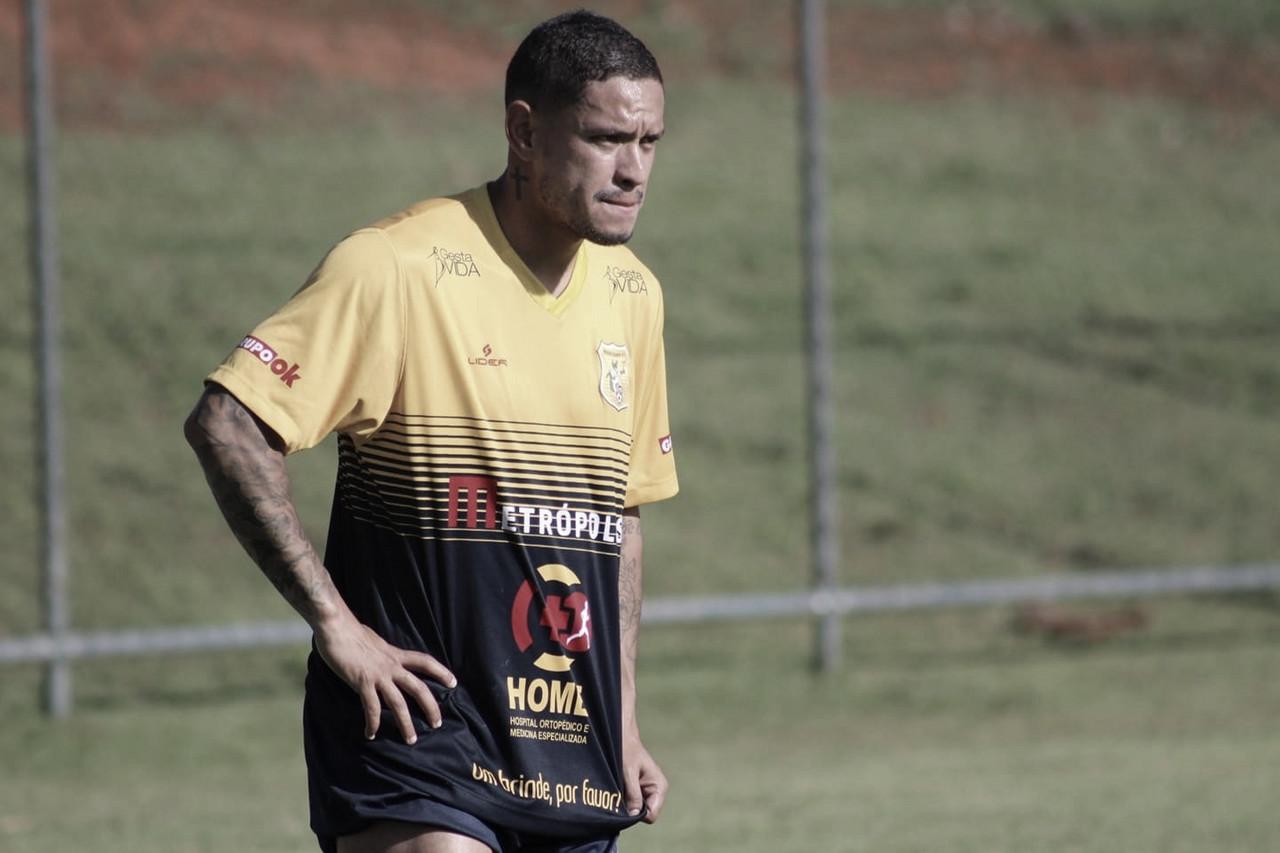 Carlos Eduardo projeta nova temporada pelo Brasiliense e mira títulos