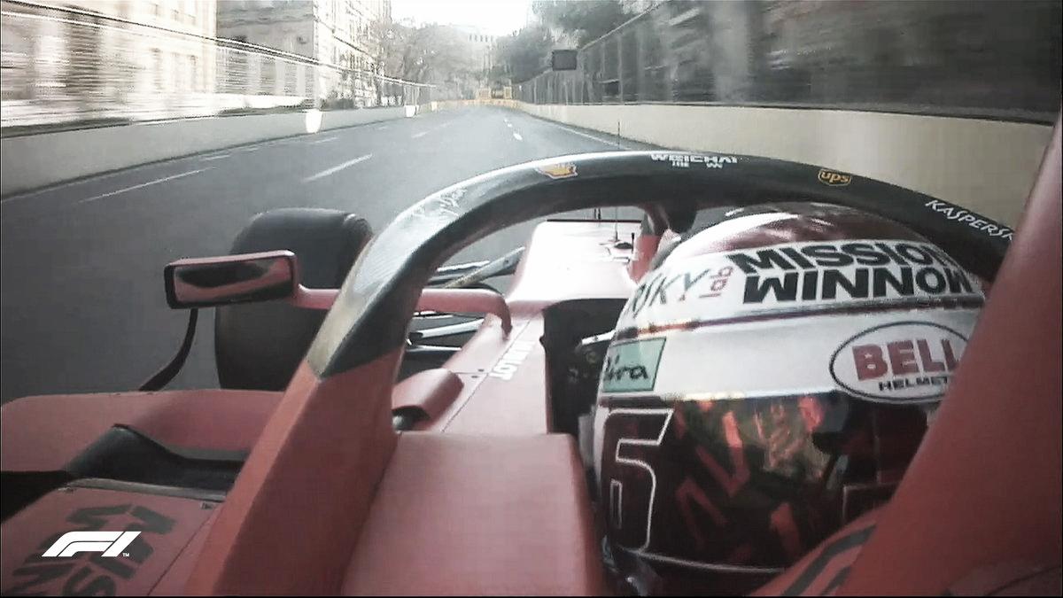 Charles Leclerc é o mais rápido do segundo treino livre e é favorito para pole em Baku