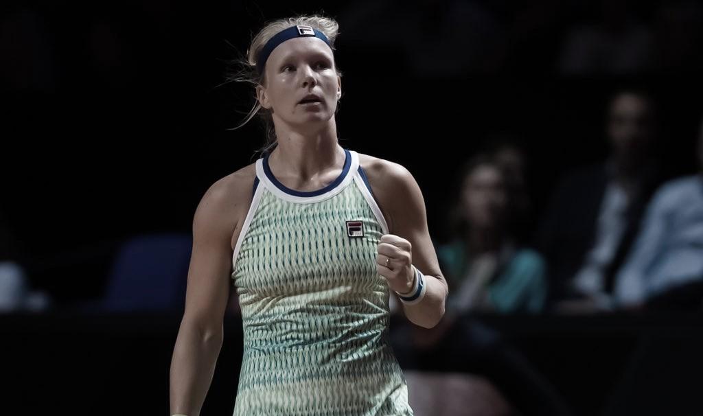 Bertens faz boa estreia em Madrid, despacha Siniakova e encara Ostapenko