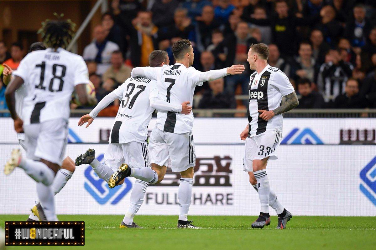Serie A- Il derby d'Italia regala un bello spettacolo, ma tra Inter eJuventus finisce 1-1
