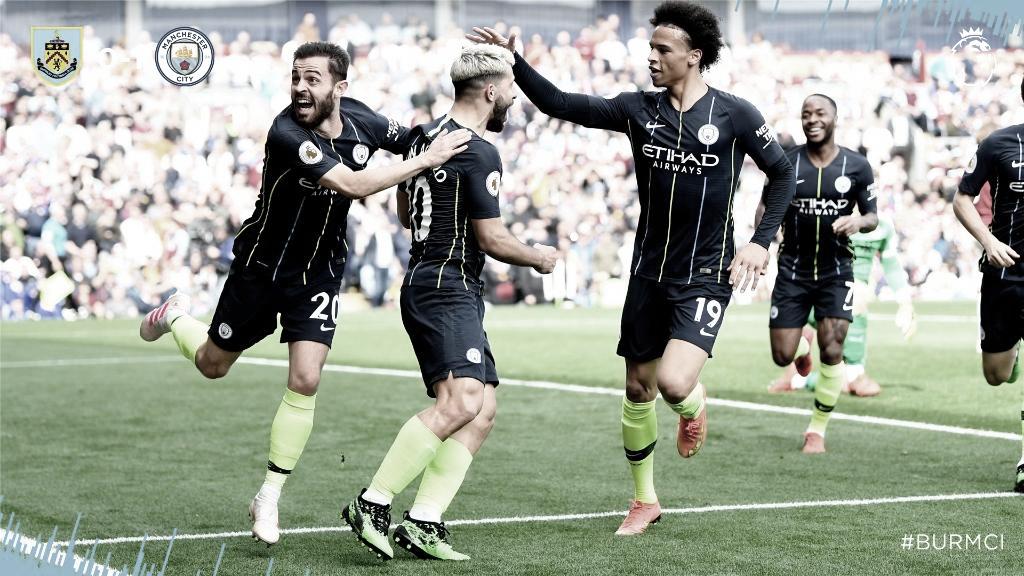 Com gol de Agüero, Manchester City vence Burnley e reassume ponta da PL