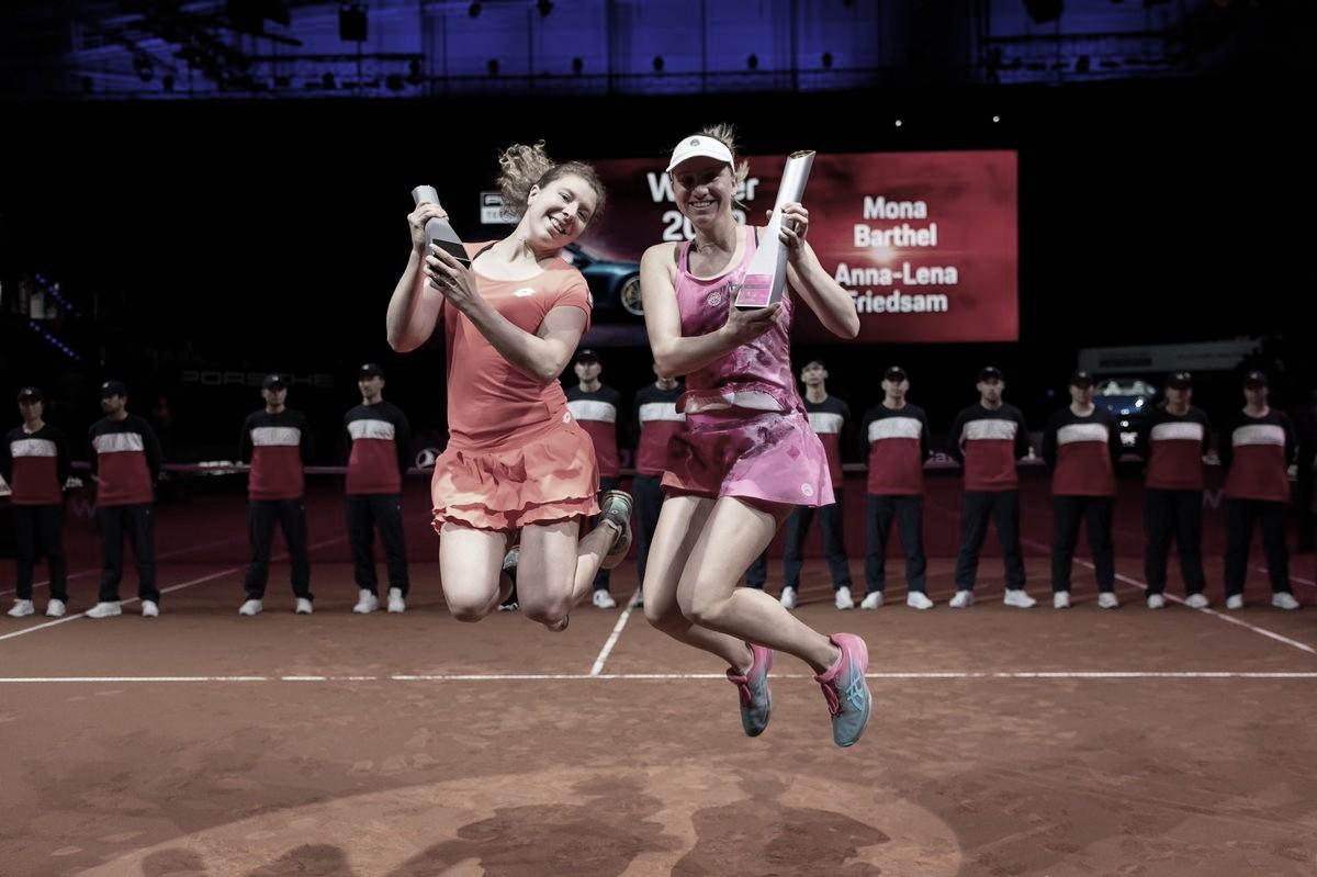 Barthel/Friedsam viram contra Pavlyuchenkova/Safarova e ficam com o título de Stuttgart