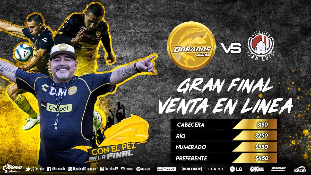 Precios boletos y dónde comprar: Dorados vs Atlético de San Luis en Final Ida Ascenso MX