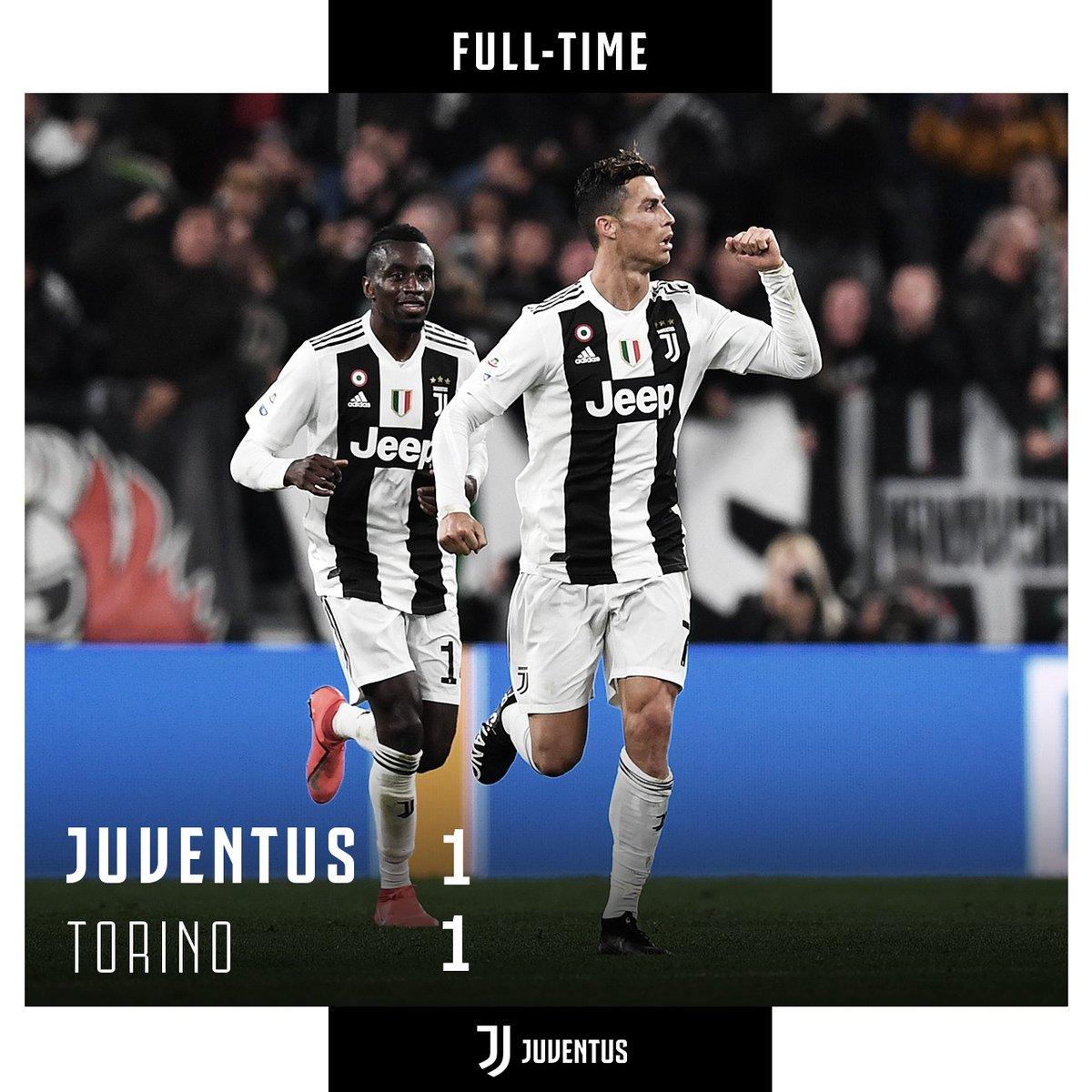 Serie A- Pareggio nel derby della Mole: 1-1 tra Juventus e Torino