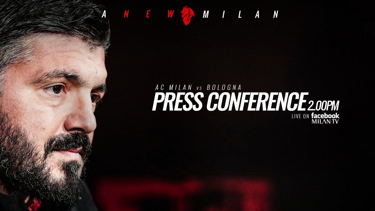 """Milan, Gattuso in conferenza: """"E' stata una settimana in cui ho sentito tante inesattezze e tante robe sbagliate"""""""