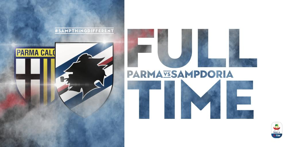 Serie A- Spettacolo tra Parma e Sampdoria è 3-3.