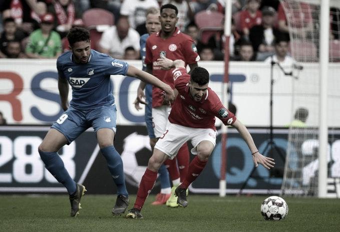 Mainz vira no fim e deixa Hoffenheim fora das competições europeias