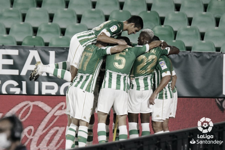 Las nueve primeras jornadas del Real Betis Balompié