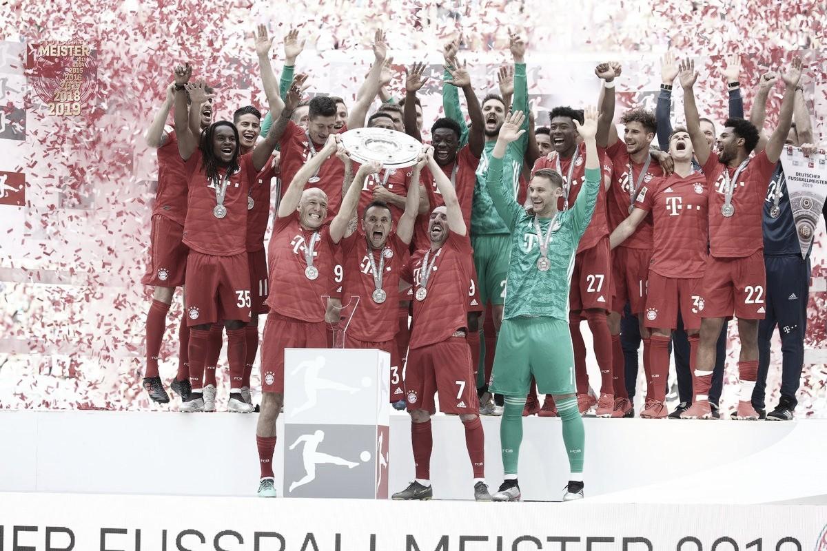 É hepta! Bayern goleia Frankfurt com gols de Robben e Ribéry e é campeão da Bundesliga