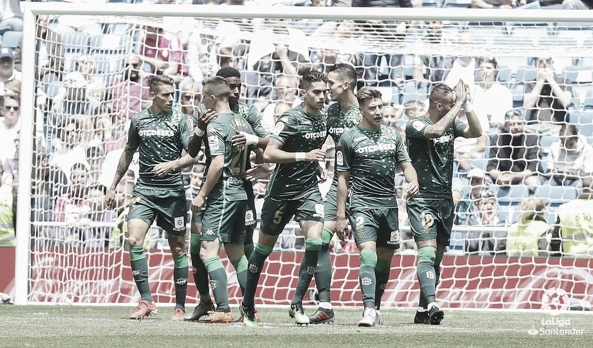 Betis domina e derrota Real Madrid fora de casa no encerramento da La Liga