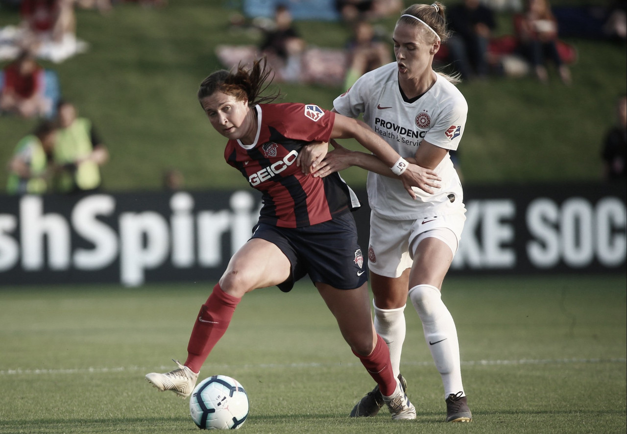 Portland Thorns FC vs Washington Spirit: Washington tries to make a late playoff push
