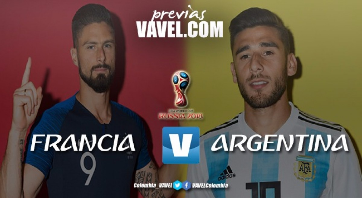 Francia – Argentina: espectáculo final adelantado
