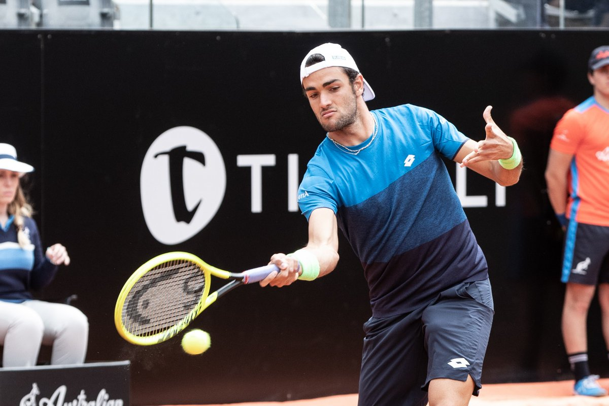 ATP Roma day 3 - Immenso Berrettini: battuto Zverev