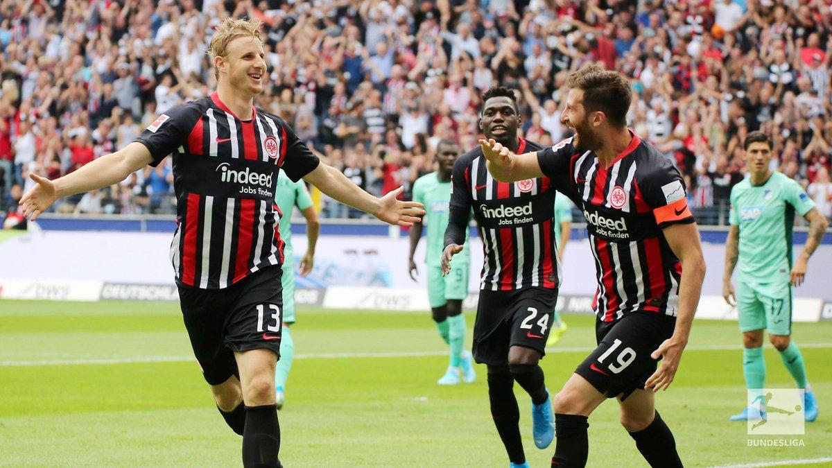 Bundesliga-Partono bene Francoforte e Lipsia