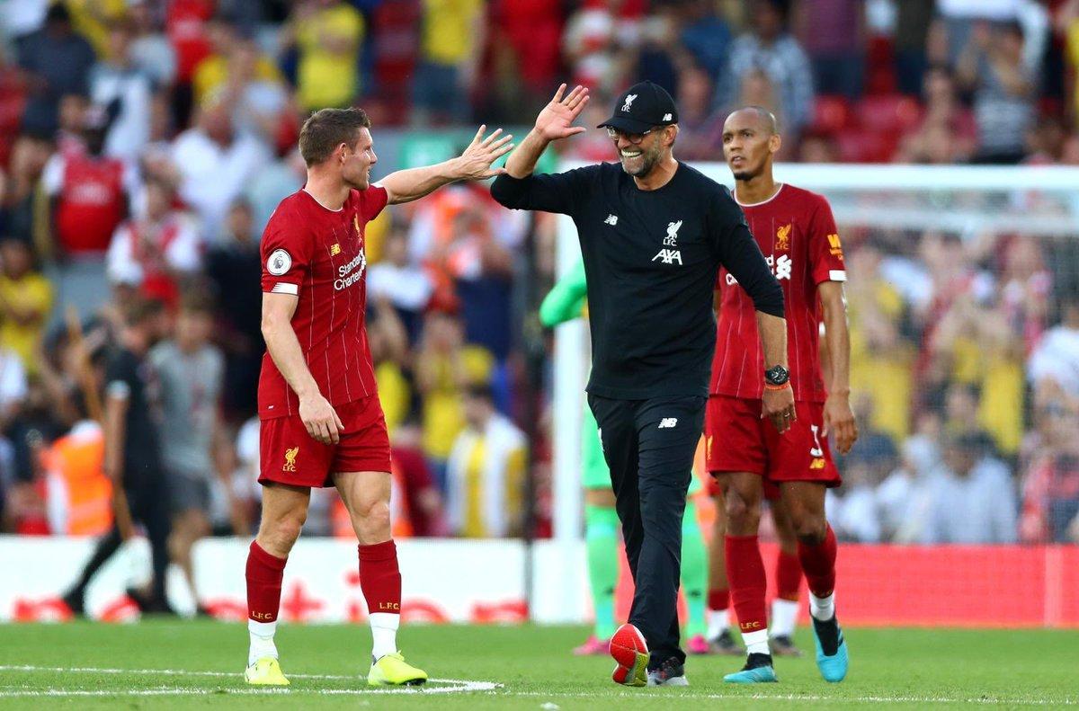 Calcio Estero Super Saturday- Liverpool batte Arsenal nel big match e vola in testa alla Premier