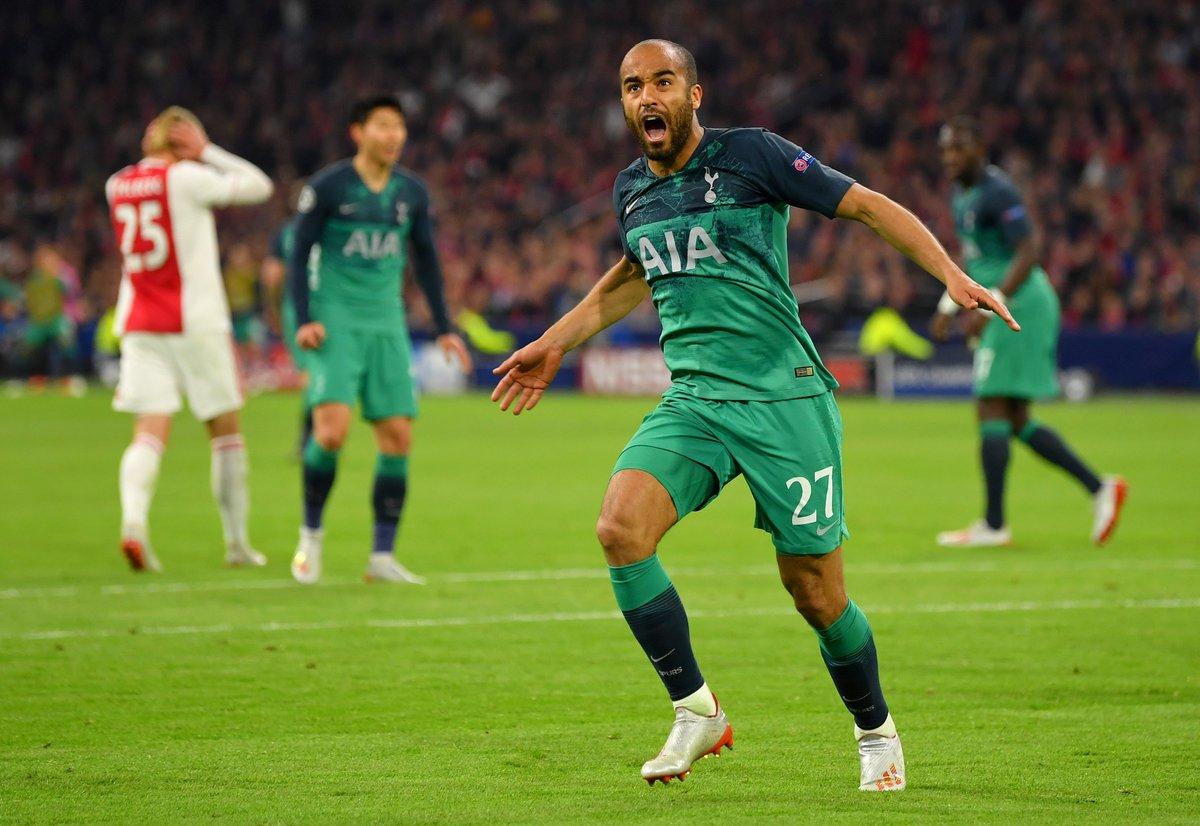 Champions League - Lucas Moura da leggenda: Tottenham batte Ajax 2-3!
