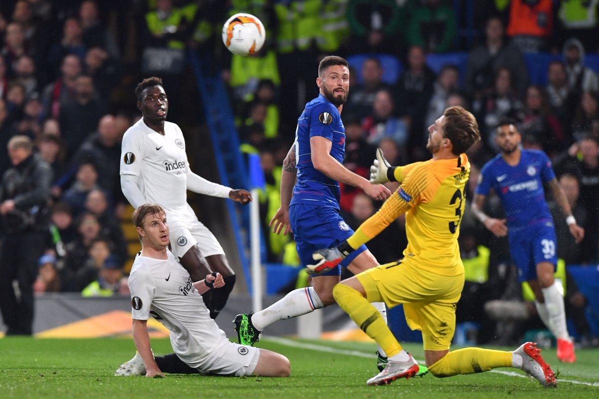 Europa League- Il Chelsea trema, batte l'Eintracht ai rigori e strappa il pass per Baku