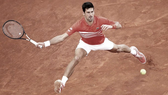 El implacable Djokovic italiano