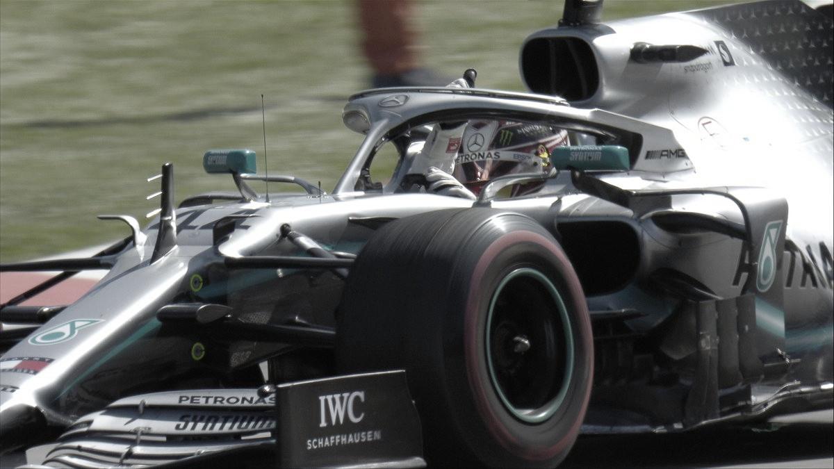 Mercedes sigue implacable