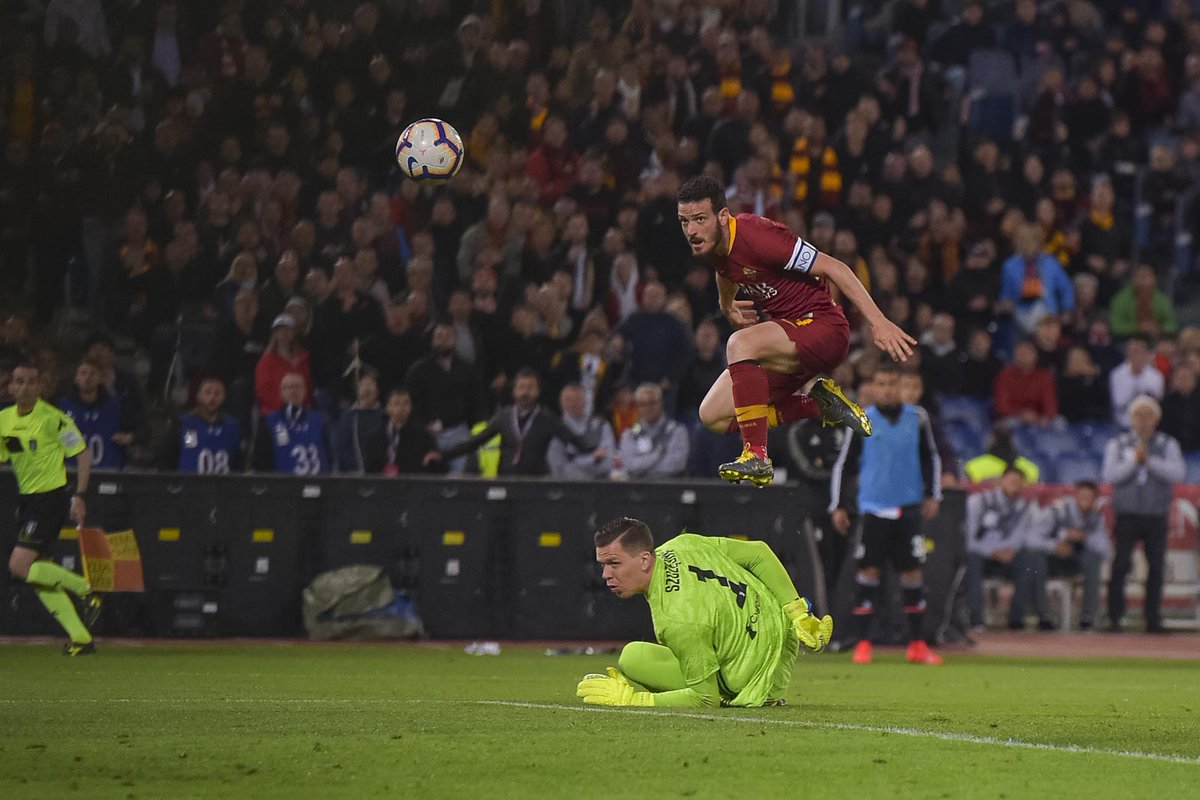 Serie A - Florenzi e Dzeko stendono la Juventus: vince la Roma 2-0
