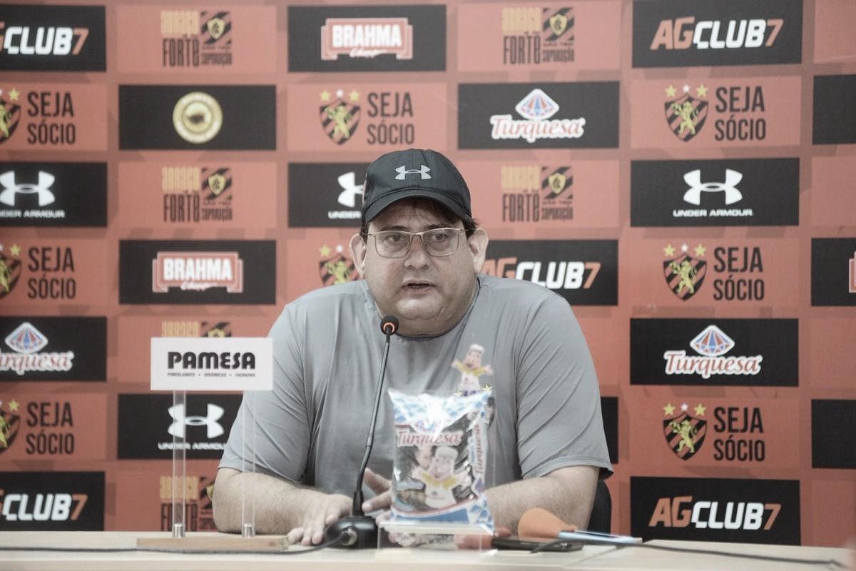 """Guto Ferreira exalta primeira vitória do Sport na Série B: """"Conseguimos"""""""